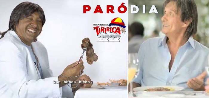 Tiririca e Roberto Carlos Paródia
